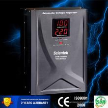 Regulador de tensão da exposição do diodo emissor de luz da venda quente de China 10000VA 6000W