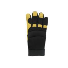 Кожаный кожаный кожаный кожаный перчатка-7308