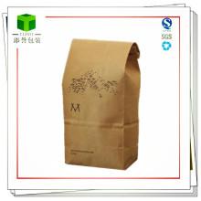 Kraftpapier Taschen für Lebensmittel und Kaffee Verpackungen