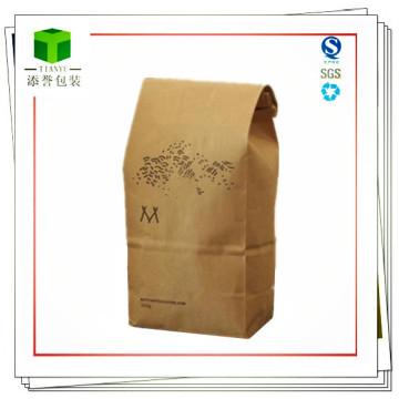 Sacos de papel Kraft para alimentos e embalagens de café