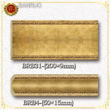 Пластиковый карниз для потолка и стены (BRB4-8, BRB31-8)