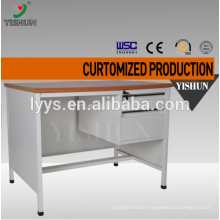 Luoyang cheap computer desk,metal frame computer desk,stainless steel office desk