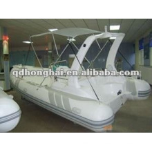 2015 hot sale luxury rib boat HH-RIB580C with CE
