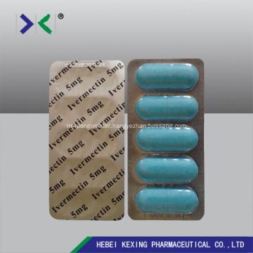 Ivermectin Tablet 5mg Veterinary