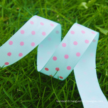Polka dot grosgrain ribbon,grosgrain print ribbon