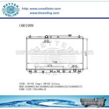 Radiateur 97-011640003140 / 1640003150/1640003152/1640003171 Pour TOYOTA Camry Fabricant et vente directe