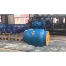 полный шаровой клапан pn63 сварной 1200мм