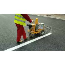 China cheap 5.5hp gasoline cold spray handpush road floor  line marking machine for sale