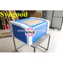 only need $1690-SG5030 desktop 35W co2 mini laser machine for Double-color board engraving