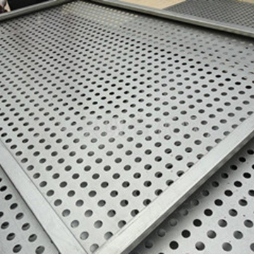 6mm aluminium panel fasad berlubang