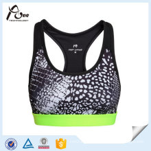 Printed Gym Wear Breathable Sexy Bra Underwear