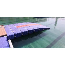 with high bearing capacity plastic floating pontoon bridge for factory price jet ski