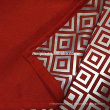 2016 novo design de tecido reflexivo para jaqueta
