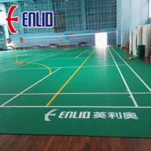 Certification Enlio Badminton PVC Sports Flooring BWF