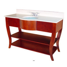 Hotel Tocador de baño de madera maciza (B-51)