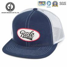 2016 Sombrero cabido del camionero del casquillo del Snapback con el bordado de encargo
