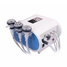 Cavitación ultrasónica + cuerpo de la liposucción del vacío que adelgaza la máquina de la cavitación Máquina que adelgaza inteligente del RF del fotón de vacío RF que adelgaza