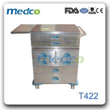 Медицинская тележка из нержавеющей стали hot T422