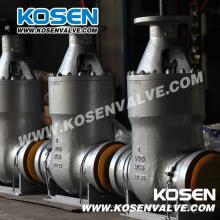 Válvulas de compuerta selladas a presión de acero fundido