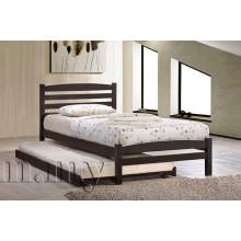 Wooden Simple Single 3 'Bett, Schlafzimmermöbel