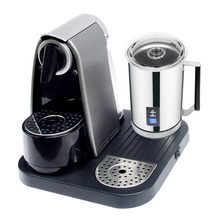 Automatic Capsule Coffee Machine with Milk Frother