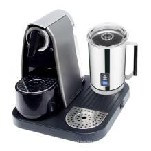 Máquina automática de café cápsula con espumador de leche