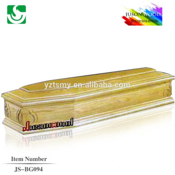 lurch wood Italy style carving coffin