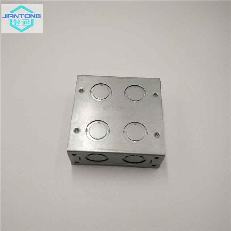 Galvanized Sheet Metal Box