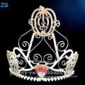 Tall Halloween Pageant Crown For Kids, Pumpkins Halloween Crown