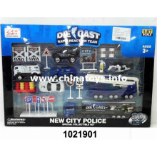 2016 Hottest Metal City Police Car Set Boy Toys (1021901)
