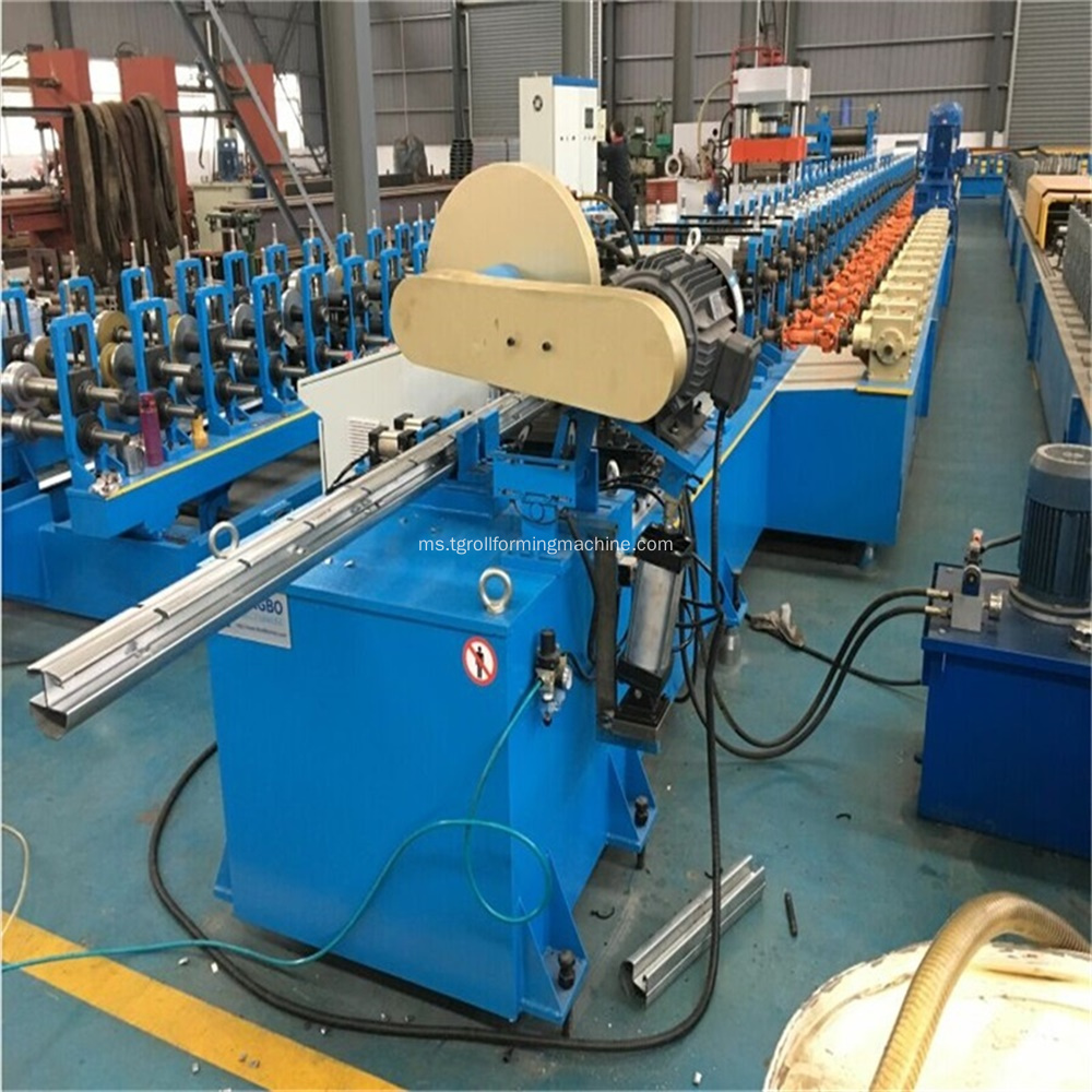 Steel Panel Peach-Type Pagar Post Roll Forming Machine