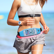 hi-vis reflective large space waterproof Running Waist Belt Pouch Case Fit For iphine series and other mobile phone