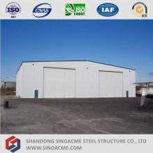 Estructura metálica prefabricada Yate Shed