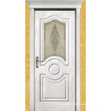 Wooden Veneer Painting Door (009)