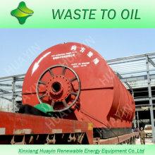 em vez disso, a incineração de resíduos para resíduos de reciclagem de pneus para usina de óleo combustível