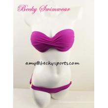 Bikini de señora de dos piezas traje de baño Beachwear Twist en CF