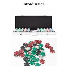 Hot selling in Amazon poker chips set case