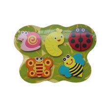Pädagogische hölzerne Chunky Puzzle Hölzerne Spielzeug