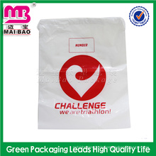 Werbeartikel Sport Gym Sack Rucksack wasserdicht benutzerdefinierte Kunststoff Kordelzug Taschen