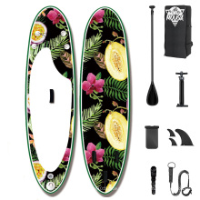 2021 Superior New style design inflatable soft top racing  surfboard with different accessaries