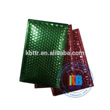 Papel de aluminio color metalizado plástico plástico burbuja publicitario personalizado
