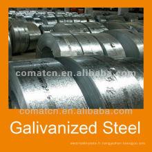 Bobine d'acier Galvalume de Chine pour la construction de bâtiments
