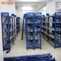 powder coated middle duty warehouse racks for spare parts