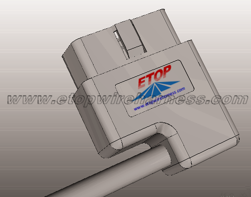 OBD Diagnostic Connector For Automobile