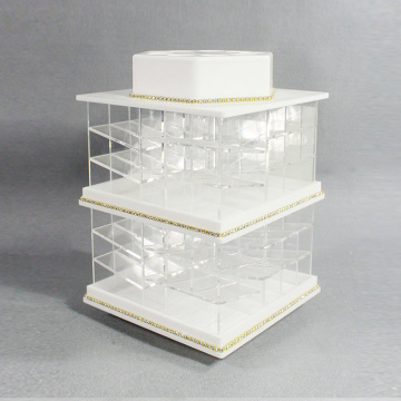 Acryl Lipstick Spinning Holder Toren