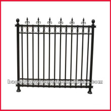 Black wrought iron fence anping factory