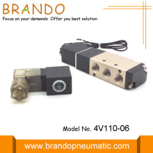 Two-position Five-way G1/8 Pneumatic Cylinder Valve