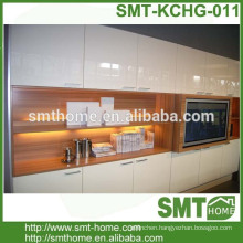 modular customized high gloss kitchen cabinet