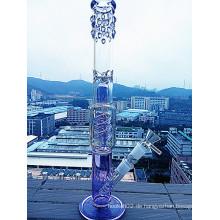 Hbking heißes verkaufendes Regenschirm-Borosilikat-Material-Glaswasser-Rohr mit Qualität