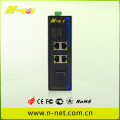 10/100/1000m Industrial unmanaged switch with poe